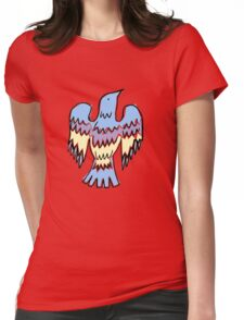 layer bird Womens Fitted T-Shirt