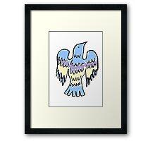 layer bird Framed Print