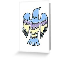 layer bird Greeting Card