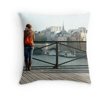Absorbing the city. Throw Pillow