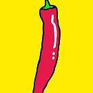 Red Hot Chili Pepper by theshirtshops
