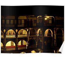 Night at Rila Monastery Poster