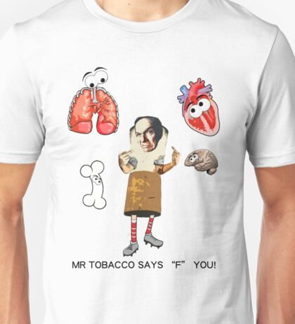Idea 1 for anti smoking campaign Unisex T-Shirt