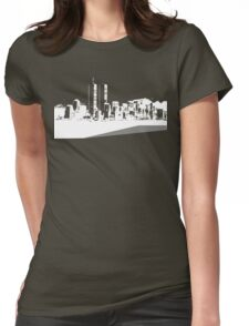 Cityscape 4 Womens Fitted T-Shirt