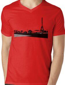 City Scape 5 Mens V-Neck T-Shirt