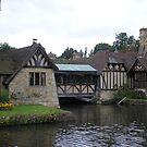 Hever Castle - Tudor Cottages by ChelseaBlue