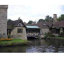 Hever Castle - Tudor Cottages Photographic Print