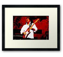 Guitarist 6 Framed Print