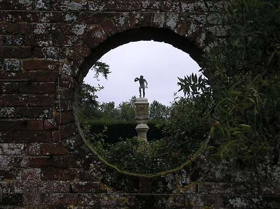 and looking through the round window . . . by ChelseaBlue