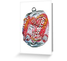 Rubicon Lychee - Crushed Tin Greeting Card