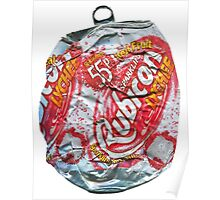 Rubicon Lychee - Crushed Tin Poster