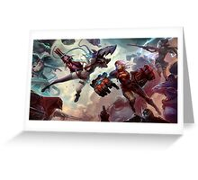 league of legend Greeting Card