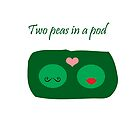 Two Peas in a Pod by CreativeEm