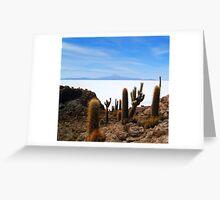 Salar Uyuni Greeting Card