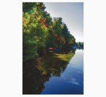 Autumn Lake Mirror - Impressions Of Fall Kids Clothes
