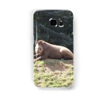 Tapir To The Top and Smile Samsung Galaxy Case/Skin