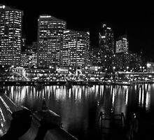 Looking Into a Black and White Sydney by Jen Waltmon