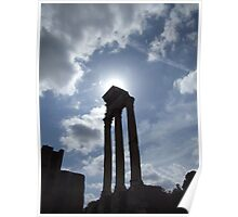Pillars of the Vestal Virgins Poster