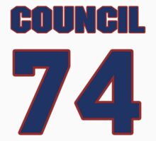 National football player Council Rudolph jersey 74 by imsport