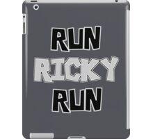RUN RICKY RUN iPad Case/Skin