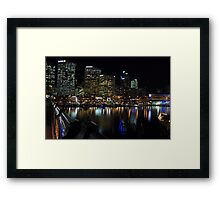 Looking Into the City Framed Print