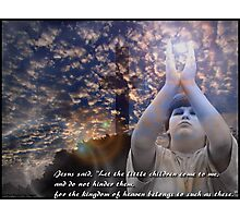 Matthew 19 : 14 Photographic Print