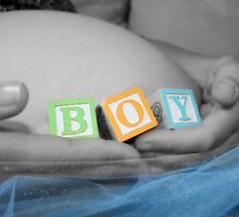Boy Belly Bump by Taylor Sawyer