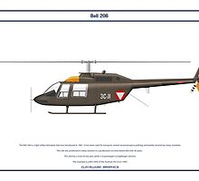 Bell 206 Austria 1 by Claveworks