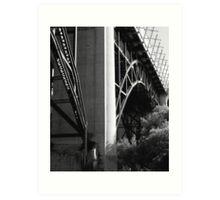 A Bridge..... Art Print