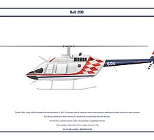 Bell 206 Croatia 1 by Claveworks