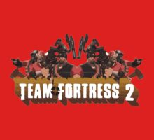Team Fortress 2 Poster Kids Clothes