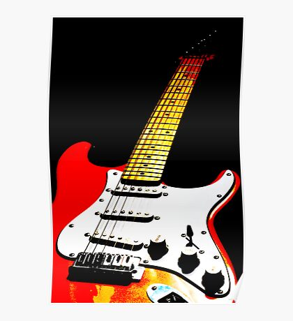 My Red Guitar 2 Poster