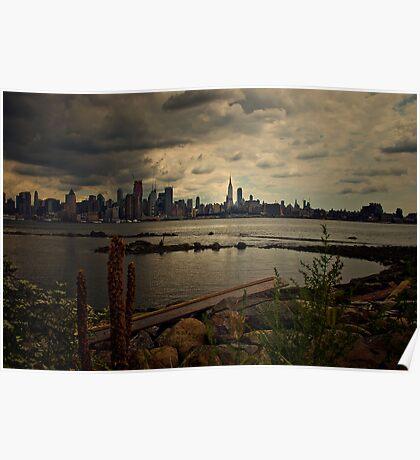 Sky Breakage on 9/11 Poster