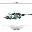 Bell 206 Pakistan 1 by Claveworks