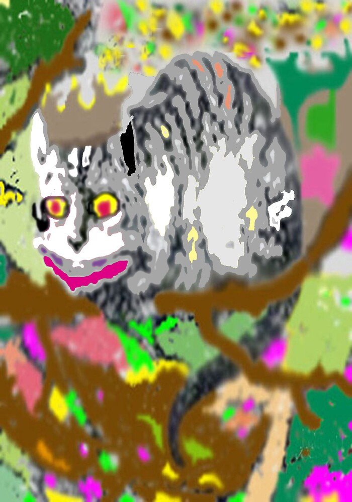 GRINNING CAT by Atsuhiko Tokunaga