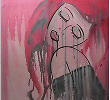 Pink Tears Photographic Print