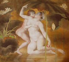 Venus and cupid by shiyong