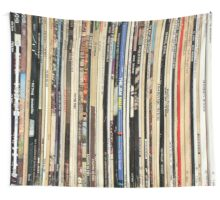 Vinyl Record Collector   Wall Tapestry