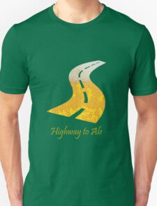 Highway to Ale Unisex T-Shirt