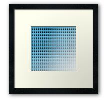 Rectangles Framed Print