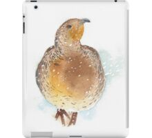 Partridge in the Snow iPad Case/Skin