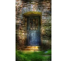 A rather old door leading to somewhere Photographic Print