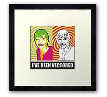 Lisadee vectored Framed Print