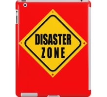 DISASTER ZONE iPad Case/Skin