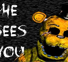 Five NIghts at Freddy's - Golden by ogSuede
