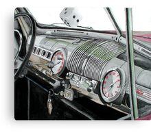 Ford Dash Canvas Print