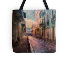 Streets of San Juan Tote Bag