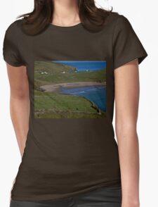 Traloar Beach, Muckross Head, Donegal Womens Fitted T-Shirt
