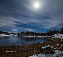 Moonlit Loch by CrimsonSkyPhoto