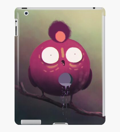 the dripping bird iPad Case/Skin